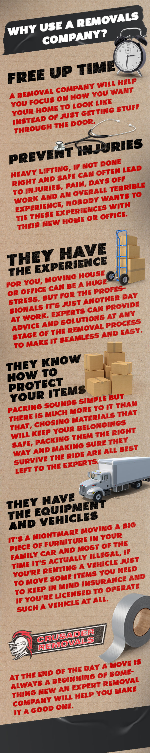 Why Use a Removals Company