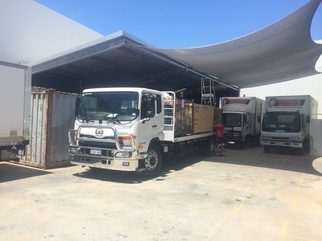 Interstate Removalists - Logistics Truck