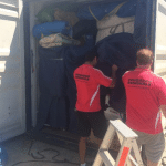 House Removals - Loading Truck