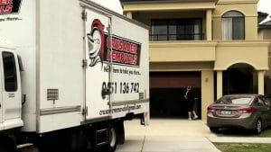 Crusader Removals Truck